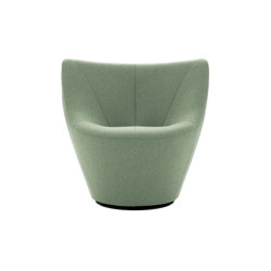 Anda | Swivelling Armchair Low Back | Armchairs | Ligne Roset