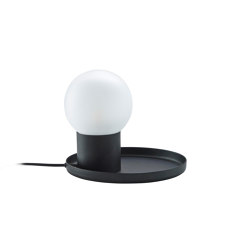 Coupole | Table Lamp Black | Table lights | Ligne Roset