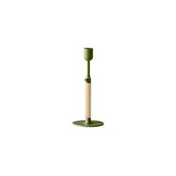 Duca Candle Holder | Olive Green | Candlesticks / Candleholder | MENU