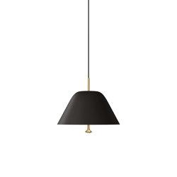 Levitate Pendant 28   Black   Suspended lights   MENU