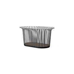 Ribbon Basket | Black | Storage boxes | MENU