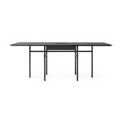 Snaregade Conference Table | Black Steel / Black Oak | Contract tables | MENU