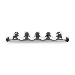 Kamm Hanger 5 Inox | Hook rails | Zieta