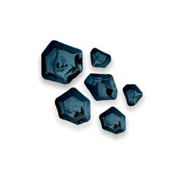 Kamyki Set Of 6 Heat Cosmic Blue | Single hooks | Zieta