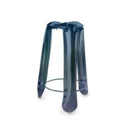 Plopp Stool Bar Heat Cosmic Blue | Bar stools | Zieta