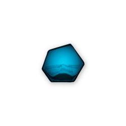 Tafla C6 Mirror Gradient Deep Space Blue   Mirrors   Zieta