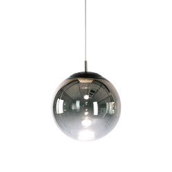 glaskugelleuchte ku3 LED gradient chrome | Lámparas de suspensión | Mawa Design