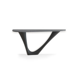 G-Console Mono Graphite Base With Concrete Top | Tavoli pranzo | Zieta
