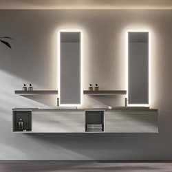 Nyù 4 | Bath shelving | Ideagroup