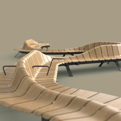 Ascent Double Rise | Benches | Green Furniture Concept