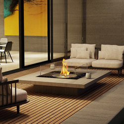 Square 22 | Ventless fires | EcoSmart Fire
