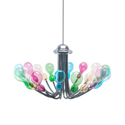 Blob chandelier 16 lights | Suspended lights | Purho