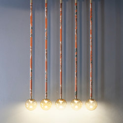 Magus 5 chandelier | Suspended lights | Purho