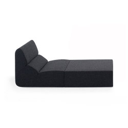 Layout armchair | Modular seating elements | Prostoria