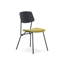 Strain chair with upholstered seat   Chairs   Prostoria