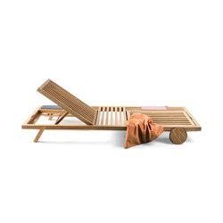 Umomoku sunlounger outdoor | Sun loungers | Prostoria