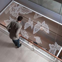 Lace Fence | Suspended divider | REDFORT