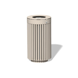 Litter bin 610 with and without ashtray | Waste baskets | BENKERT-BAENKE