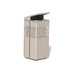 Litter bin 1120 with roof top | Waste baskets | BENKERT-BAENKE