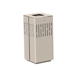 Litter bin 1120 with and without ashtray | Waste baskets | BENKERT-BAENKE