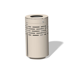 Litter bin 1210 with and without ashtray | Waste baskets | BENKERT-BAENKE