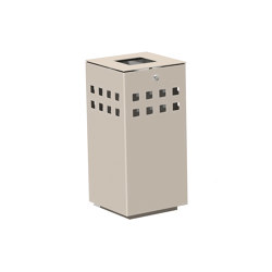 Litter bin 1310 with and without ashtray | Waste baskets | BENKERT-BAENKE