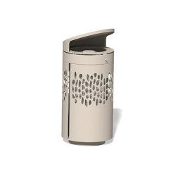 Litter bin 1410 with roof top | Waste baskets | BENKERT-BAENKE