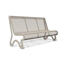 Siardo 10 R Bench without armrests1800 | Bancos | BENKERT-BAENKE
