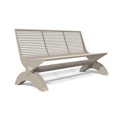 Siardo 1300 R Bench without armrests 1800 | Bancos | BENKERT-BAENKE