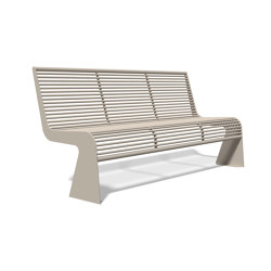 Siardo 20 R Bench without armrests 1800 | Bancos | BENKERT-BAENKE