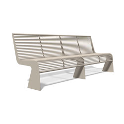 Siardo 20 R Bench without armrests 2400 | Bancos | BENKERT-BAENKE