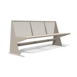 Siardo 40 R Bench without armrests 1800 | Benches | BENKERT-BAENKE