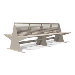 Siardo 40 R Doublebench | Benches | BENKERT-BAENKE