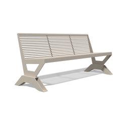 Sicorum M 1100 Bench without armrests 1900 | Bancos | BENKERT-BAENKE