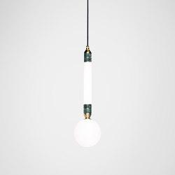 Greenstone Pendant - Small   Suspended lights   Marc Wood Studio