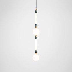 Greenstone Pendant - Large   Suspended lights   Marc Wood Studio