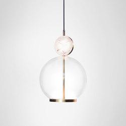 Rosa Pendant - Small | Suspended lights | Marc Wood Studio