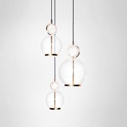 Rosa Cluster - 3 Piece | Suspended lights | Marc Wood Studio
