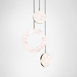 Rosa Ring - 3 Piece | Suspended lights | Marc Wood Studio