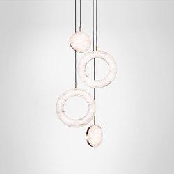 Rosa Ring - 4 Piece | Suspended lights | Marc Wood Studio