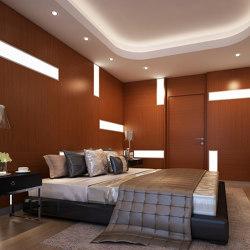 Bisa Panel Teak (With White Led Lighting Element) | Wood panels | Mikodam