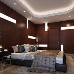 Bisa Panel Walnut (With White Led Lighting Element) | Wood panels | Mikodam