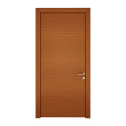 Como Door With One Natural Wood Veneer (Walnut, Teak, Oak, Whitened Oak), Lacquer (Anthracite, Grey, White) Color Options   Entrance doors   Mikodam