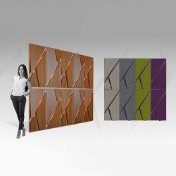 Deta Panel Grey Lacquer Matte & Fabric | Akustikdecken | Mikodam