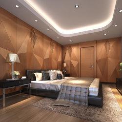 Geta Panel-A Teak With Mix Perforation | Wood panels | Mikodam