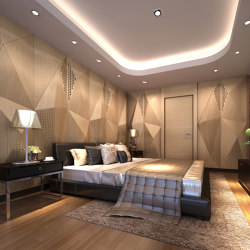 Geta Panel-B Oak With Mix Perforation | Wood panels | Mikodam