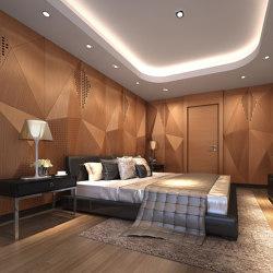 Geta Panel-B Teak With Mix Perforation | Wood panels | Mikodam