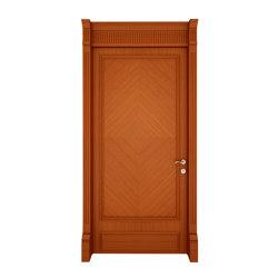 Kosa Door With One Of Natural Wood Veneer (Walnut, Teak, Oak, Whitened Oak), Lacquer | Portes d'entrée | Mikodam