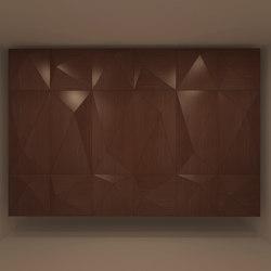 Pira Panel A Walnut | Wood panels | Mikodam