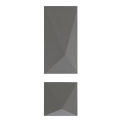 Pira Panel B Grey Lacquer Matte | Systèmes muraux absorption acoustique | Mikodam